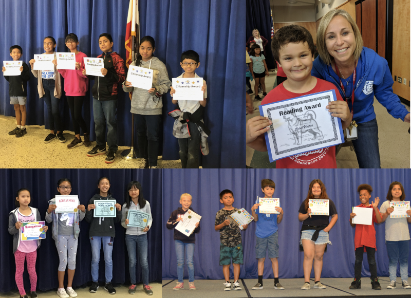 1st Trimester Awards Assembly @ Holder School