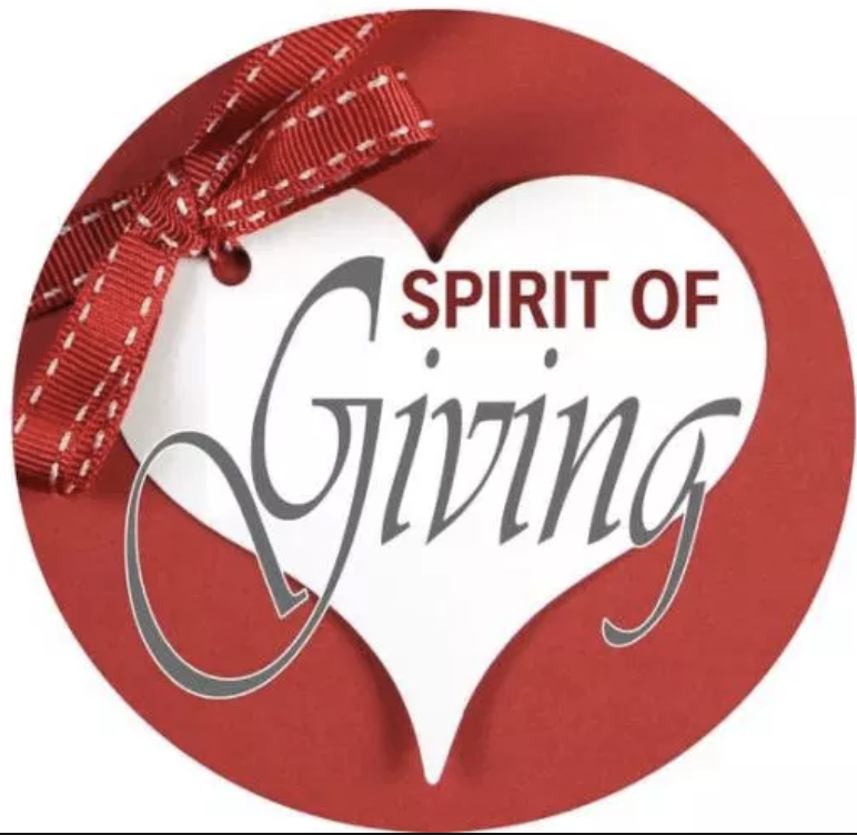 spirit of giving ornament